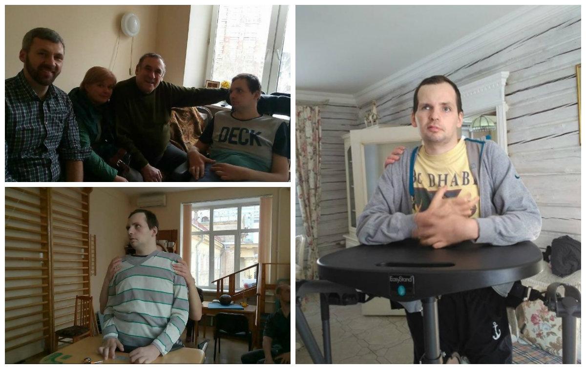 Алексей Янин восстанавливается после инсульта