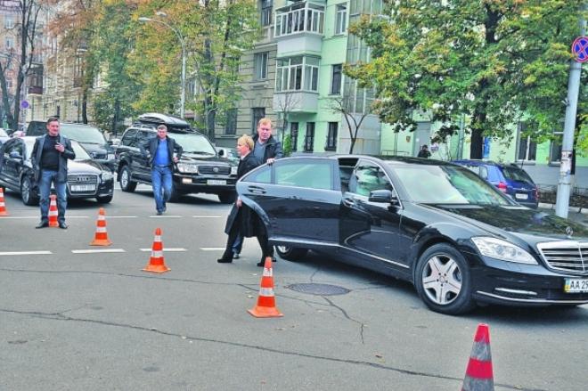 Авто Юлии Тимошенко