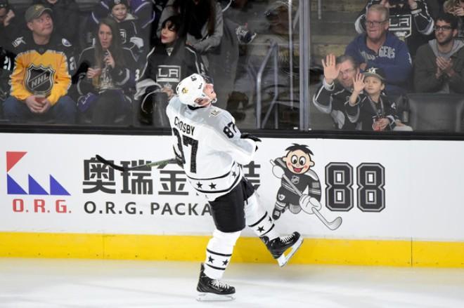 Сидни Кросби на Матче всех звезд НХЛ 2017