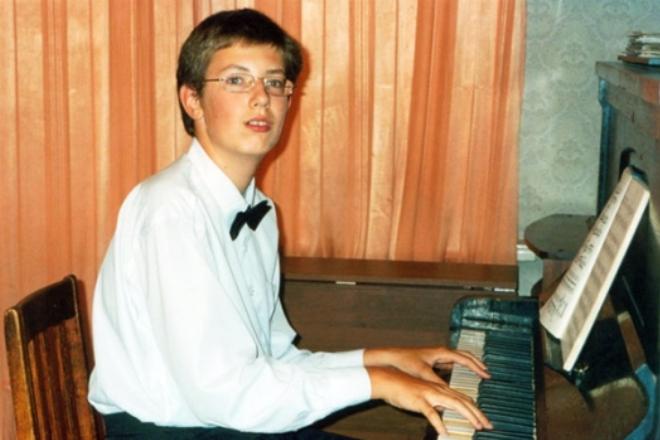 Николай Воронов в детстве