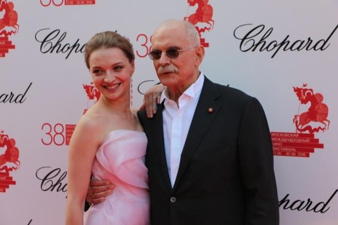 Екатерина Вилкова и Никита Михалков