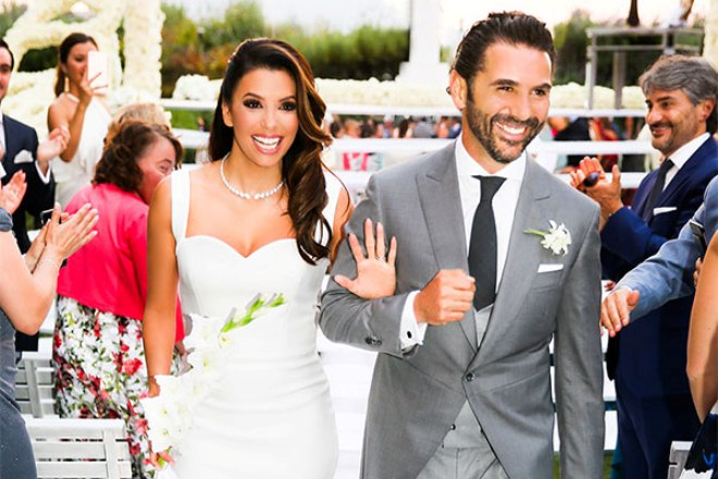 Свадьба Евы Лонгории и Хосе Бастона