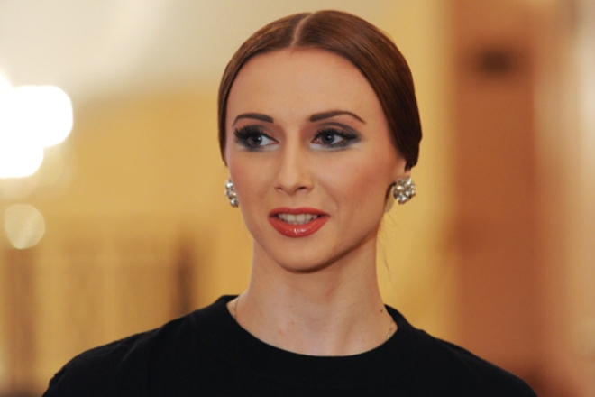 Балерина Светлана Захарова
