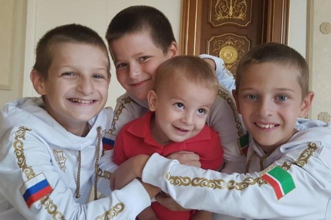 Сыновья Рамзана Кадырова