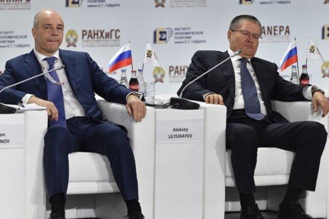 Антон Силуанов и Алексей Улюкаев