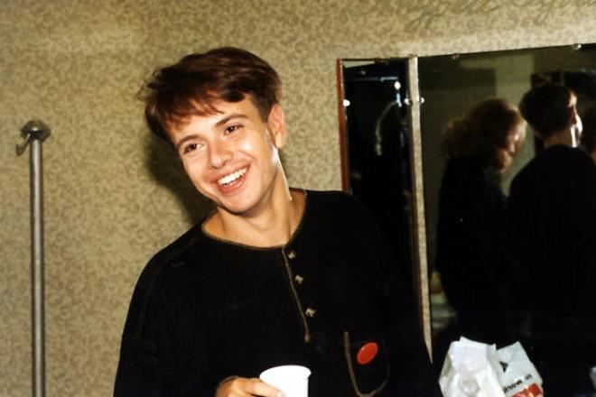 Андрей Губин в молодости