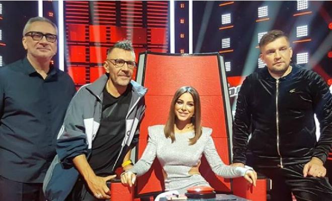 Константин Меладзе, Ани Лорак, рэпер Баста и Сергей Шнуров - наставники телешоу «Голос. Перезагрузка» в 2018 году