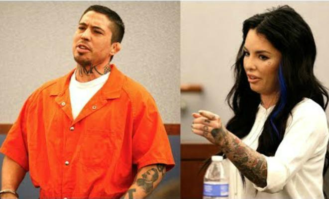 Кристи Мак и бывший бойфренд в суде
