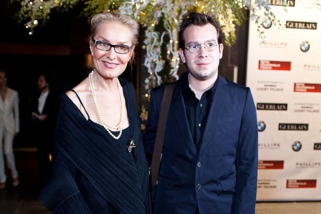 Ольга Свиблова с сыном