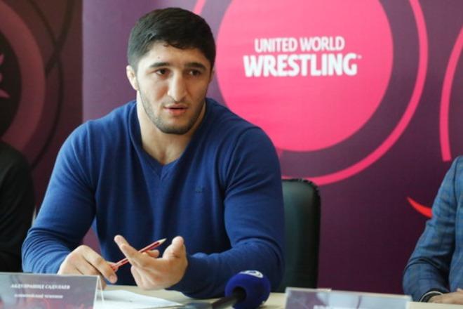 Борец Абдулрашид Садулаев