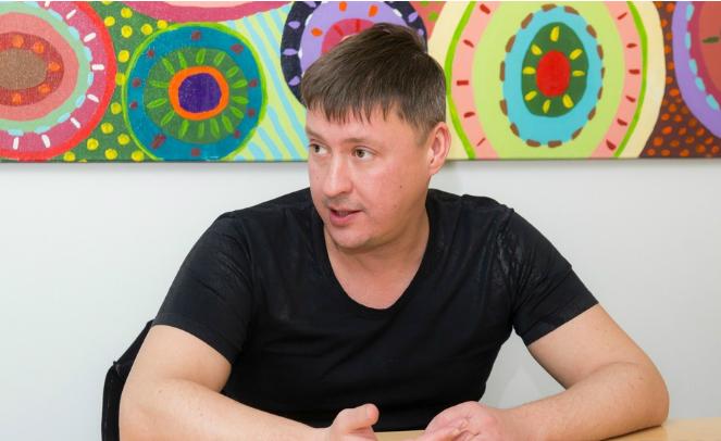 Бизнесмен Алесь Мухин