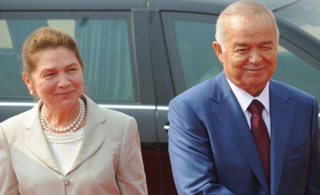 Ислам Каримов с женой