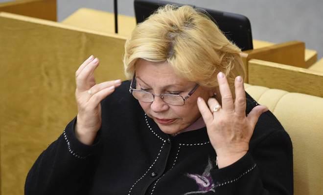 Елена Драпеко в Госдуме