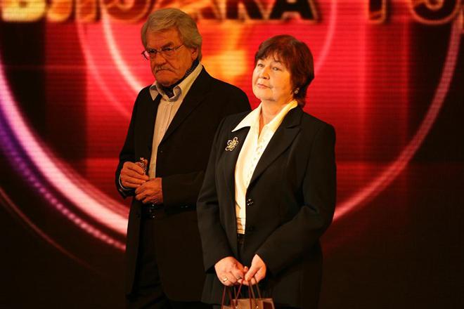 Леонид Кулагин с женой