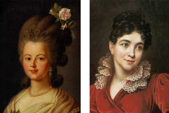 Екатерина Нелидова и Анна Лопухина