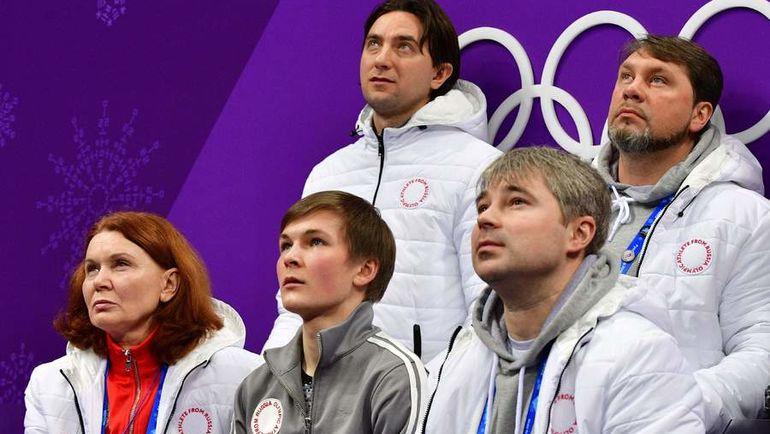 Михаил Коляда на Олимпиаде-2018
