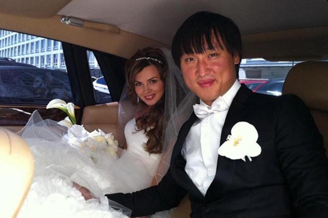 Сангаджи Тарбаев с женой