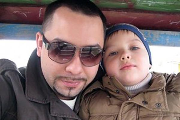 Бывший муж Натальи Юнниковой Антон Федотов и их сын Ролан