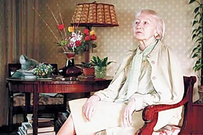 Галина Уланова в 90-х годах