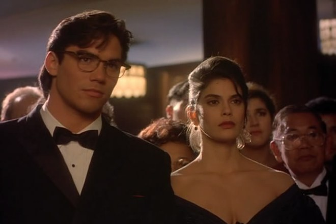 Тери Хэтчер в сериале «Лоис и Кларк: Новые приключения Супермена»