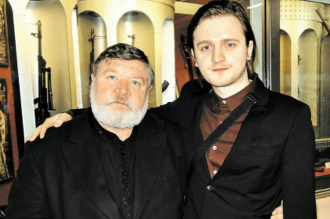 Роман Мадянов с сыном Романом