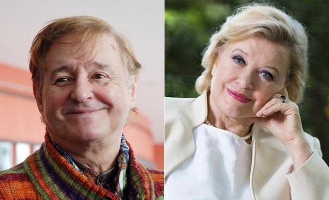 Роман Виктюк и Валентина Талызина