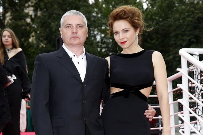 Владимир Абашкин с женой
