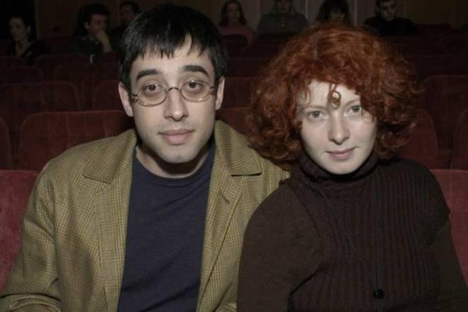 Александр Гольданский и Амалия Мордвинова