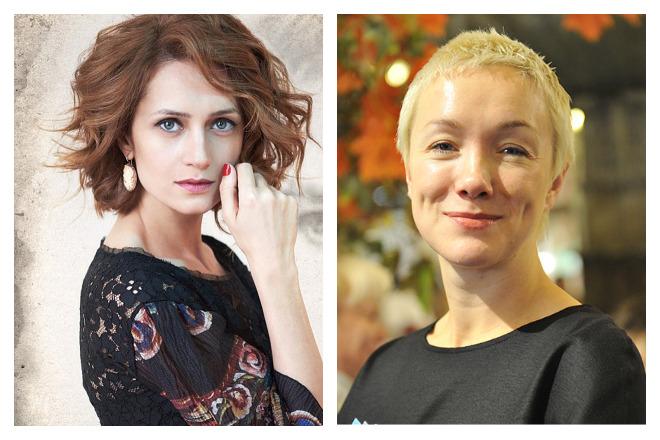 Виктория Исакова и Дарья Мороз