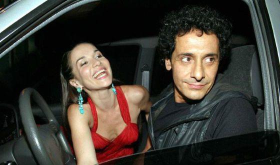 Наталья Орейро и ее муж Рикардо Мольо