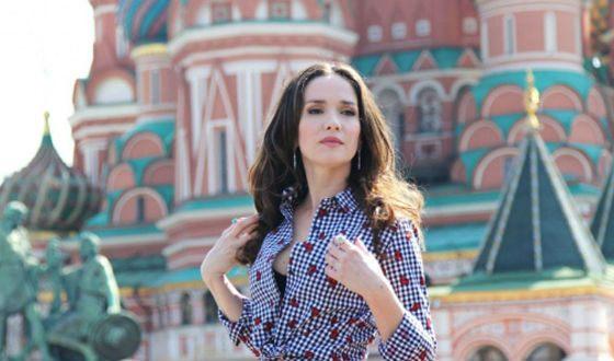 Наталья Орейро любит Россию