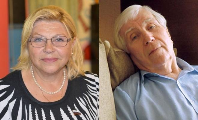 Елена Драпеко и Олег Белов