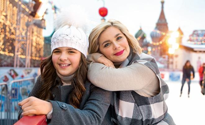 Ирина Пегова с дочерью