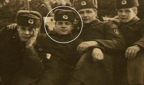 Сергей Наговицын в армии