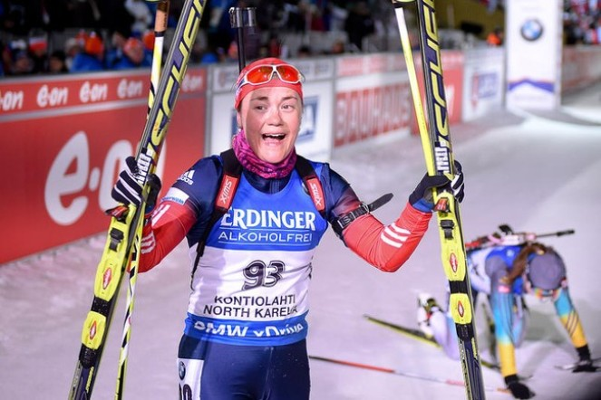 Екатерина Юрлова на чемпионате мира