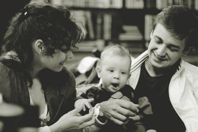 Кирилл Жандаров с семьей