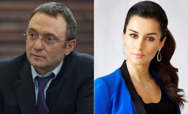 Сулейман Керимов и Тина Канделаки
