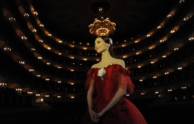 Светлана Захарова в Большом театре