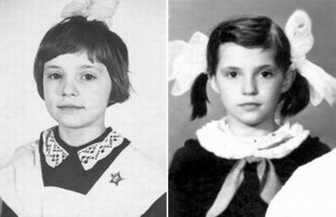 Юлия Тимошенко в детстве