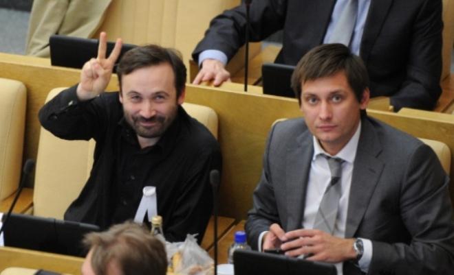 Илья Пономарёв и Дмитрий Гудков