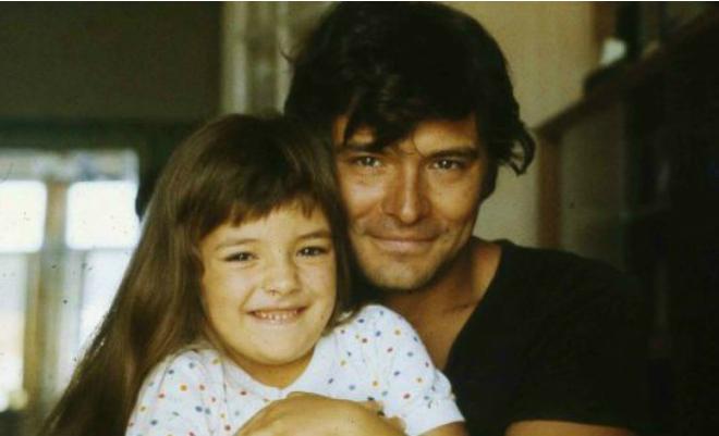 Ольга Павловец с отцом