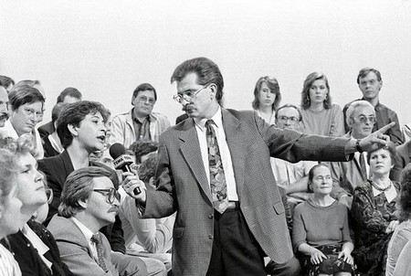 Влад Листьев - легендарный журналист, ведущий программы Взгляд
