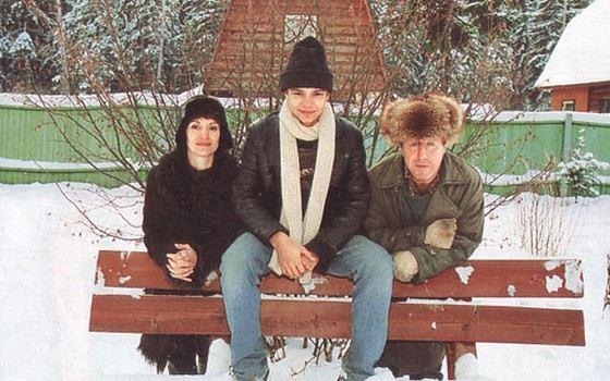 Актер Владимир Стеклов с женой Ольгой