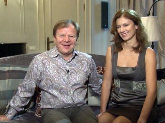 Игорь Бутман со второй женой