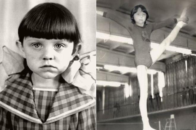 Валентина Рубцова в детстве