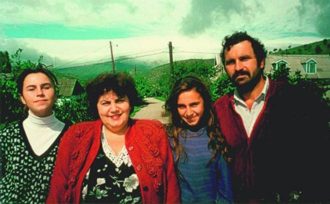 Джамала с родителями