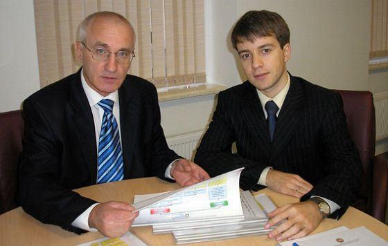 Николай Никифоров и Александр Юртаев (2005 год)