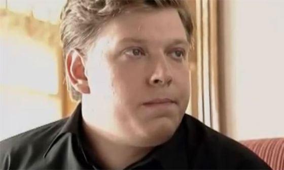 Молодой Сергей Лавыгин в сериале «Адвокат» (одна из первых киноролей)