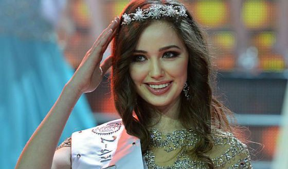 В 20 лет Анастасия Костенко стала Вице-мисс Мира
