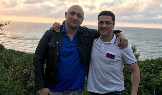 С Гошей Куценко (фото из Facebook политика)